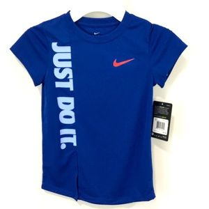 Nike JUST DO IT Girl 5T Top NWT